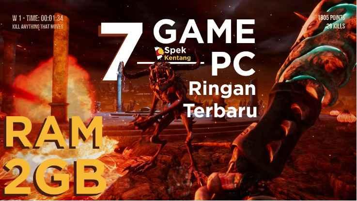 7 Game PC Ringan Terbaru untuk RAM 2GB