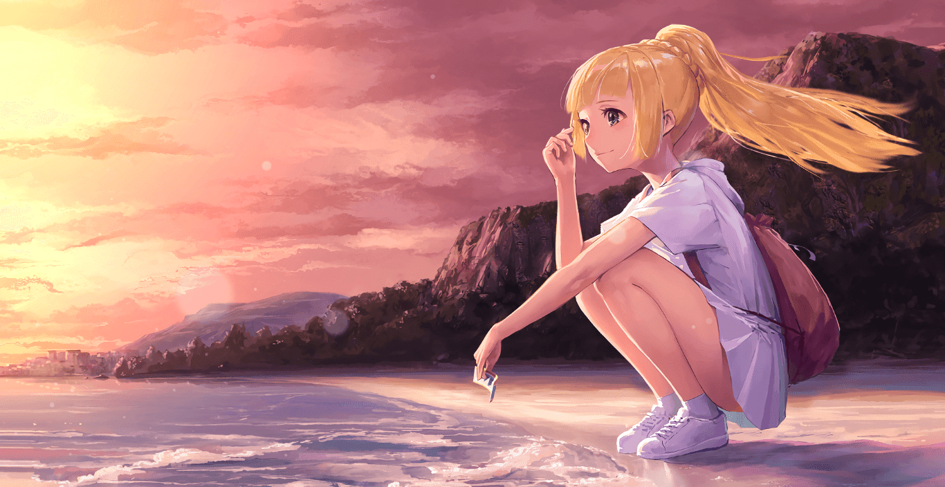 Lillie リーリエ [Wallpaper Engine Anime]