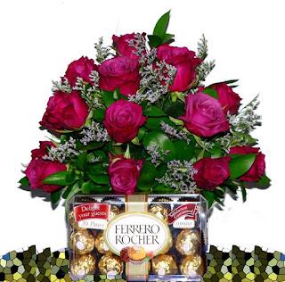 Pesan Bunga Valentine Pramugari