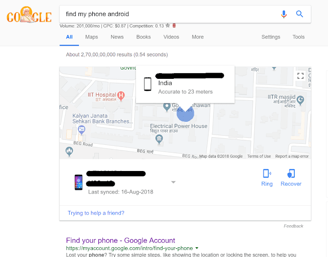 Google- Find My Device