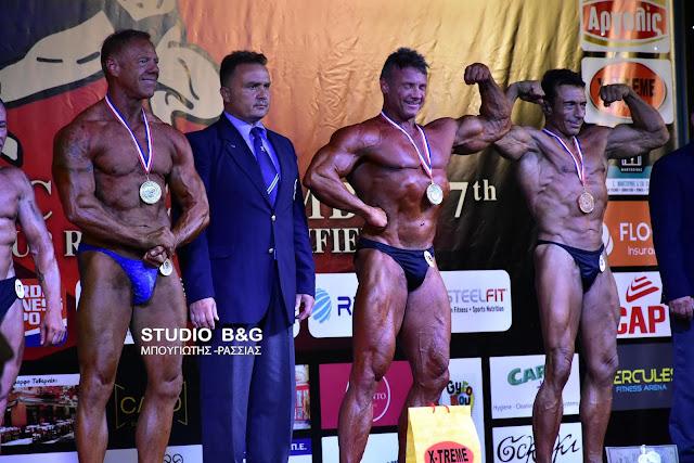Γέμισε bodybuilders το Ναύπλιο - Το IFBB International τίμησε τον Δ. Κωστούρο (βίντεο)