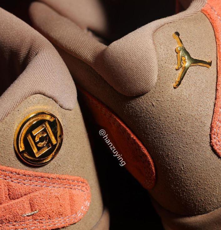 4884bd6b1f65fd THE SNEAKER ADDICT  CLOT x Air Jordan 13 Low Sneaker (Detailed Look ...