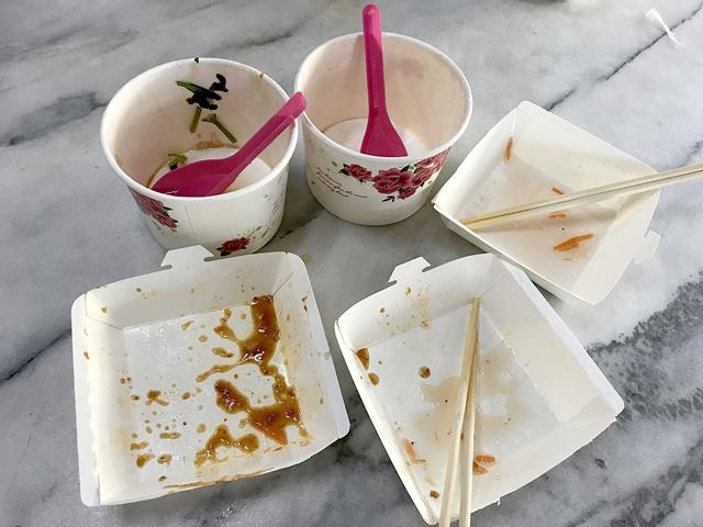阿美蘿蔔糕米粉羹~宜蘭羅東素食在地小吃