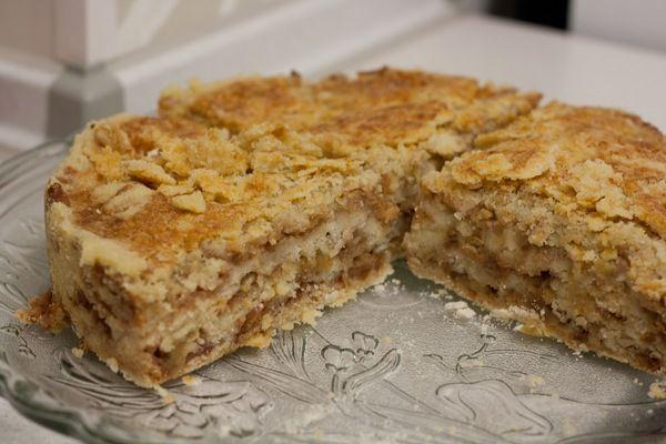 Яблучний пиріг «3 склянки». Дивовижно смачний!