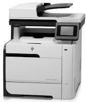 HP LaserJet Pro 300 color MFP M375 mise à jour pilotes imprimante