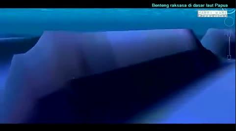 Benteng Raksasa di Laut Papua