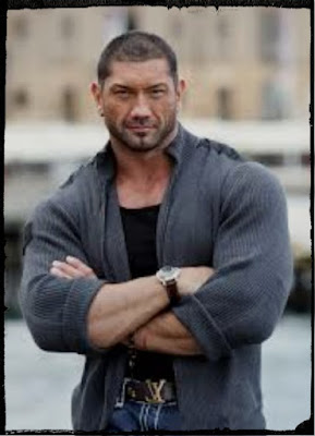 Dave Batista as Drax in Guardians of the Galaxy 2