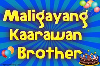Maligayang Kaarawan Brother