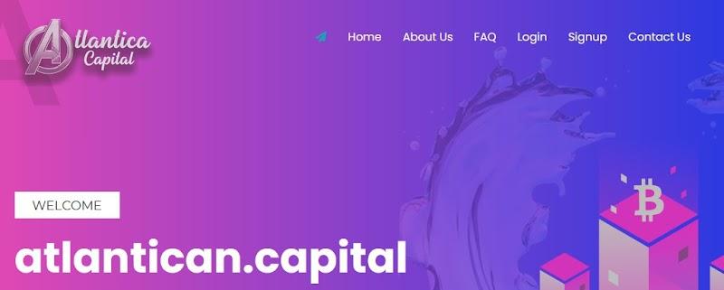 Мошеннический сайт atlantican.capital – Отзывы, развод, платит или лохотрон? Мошенники