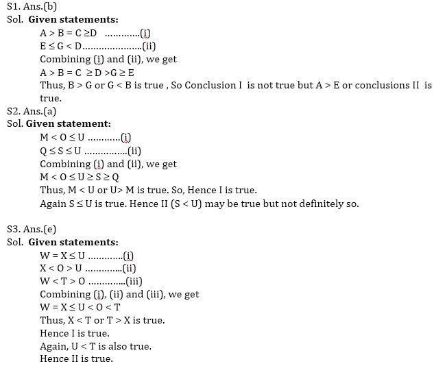 Reasoning Quiz for IBPS PO Prelims_60.1