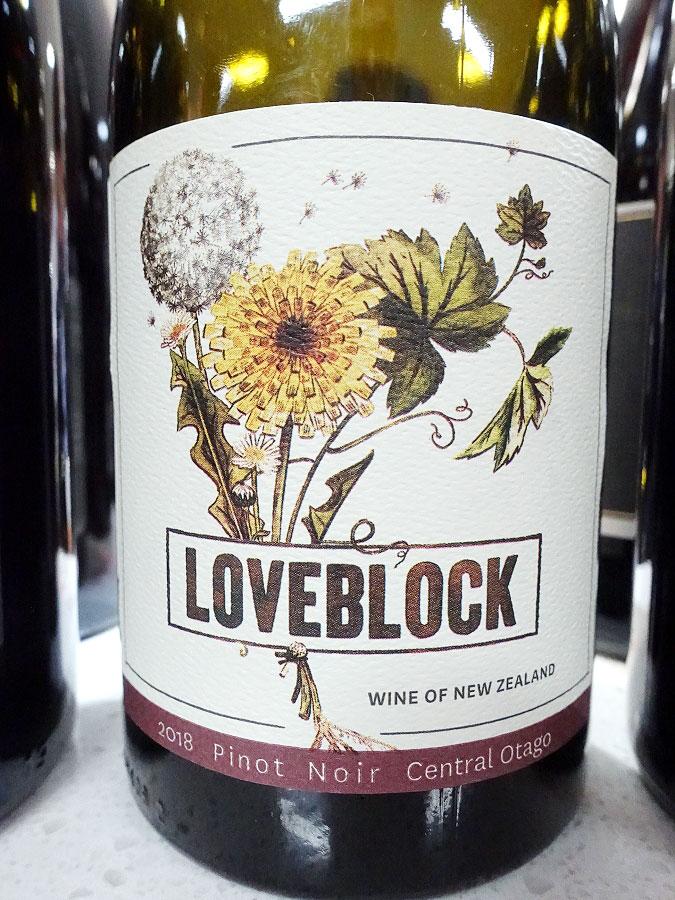 Loveblock Pinot Noir 2018 (91 pts)