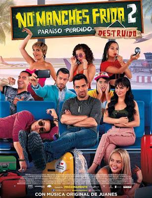 No Manches Frida 2 2019 DVD R1 NTSC Latino