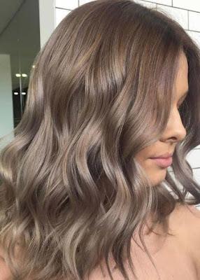 Ash-shades-of brown-hair-colors