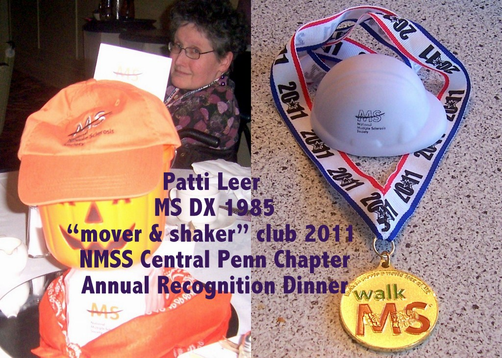 Multiple Sclerosis Society Patti Bean
