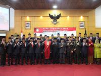 Dandim 0808/Blitar Hadiri Pelantikan Dan Pengambilan Sumpah Anggota Dprd Kota Blitar