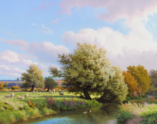 vistas-campos-óleo-sobre-lienzo cuadros-campos-pinturas