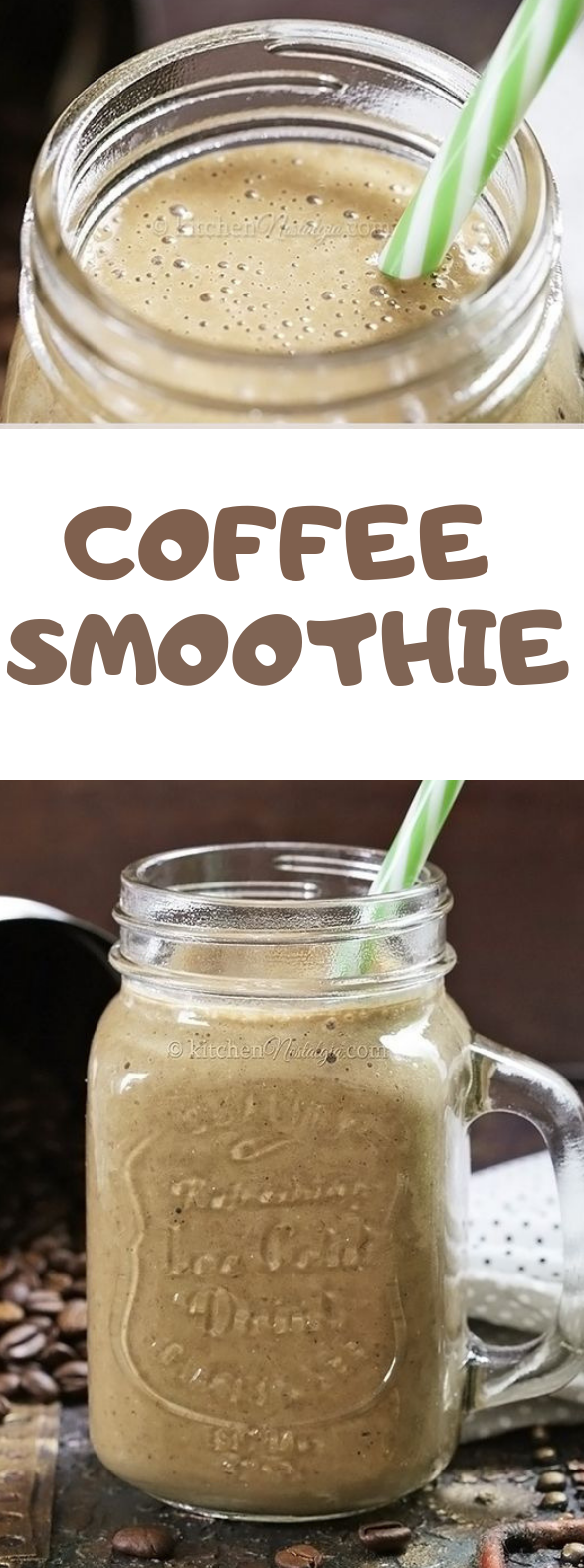 Coffee Smoothie #healthydrink #smoothie