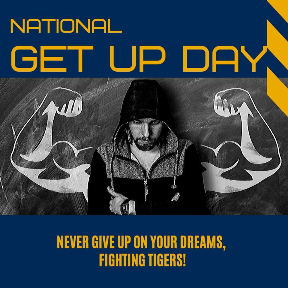 National Get Up Day Wishes Unique Image