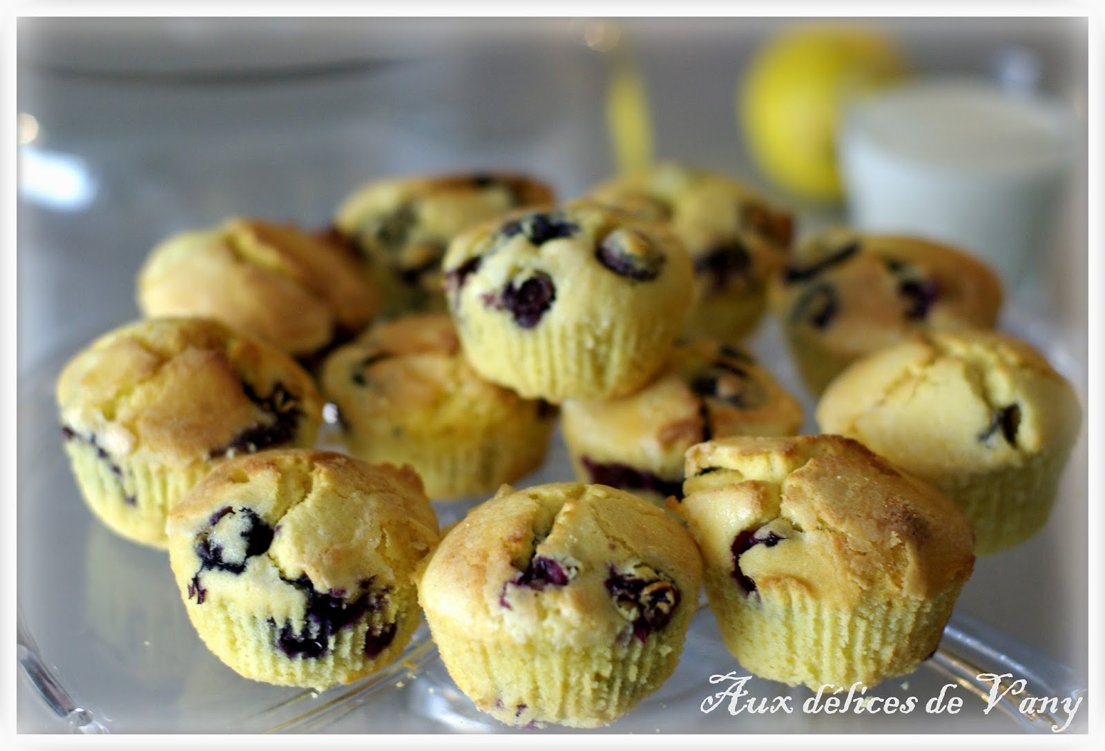 Muffins aux myrtilles extra moelleux