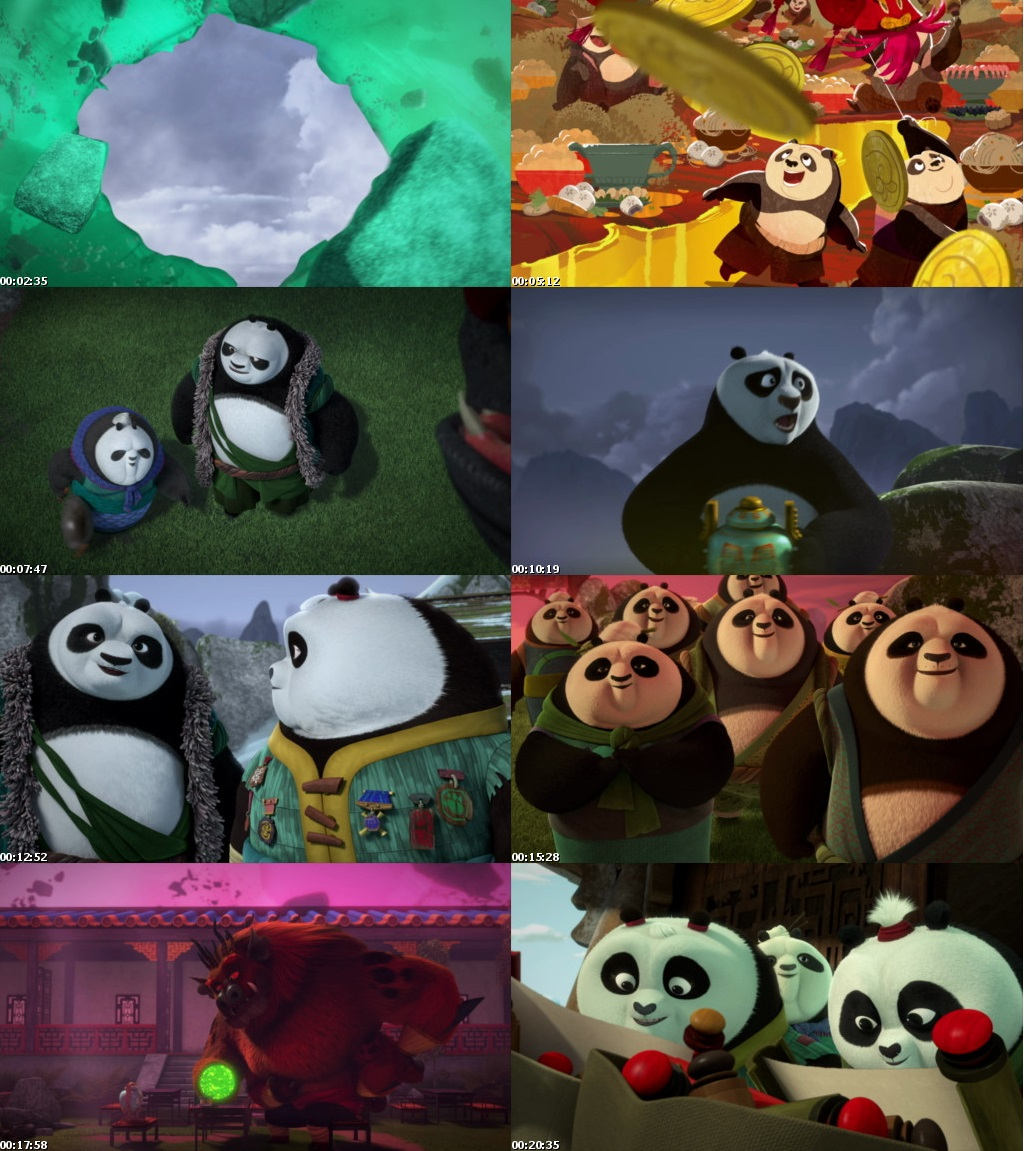 Watch Online Free Download Hindi Dubbed Dual Audio TV Show Kung Fu Panda The Paws of Destiny Season 1 Full Hindi Dual Audio Download 720p 480p