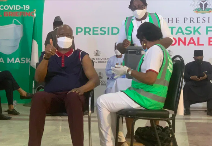 PTF Chairman Breaks Silence As He Takes COVID-19 Vaccine