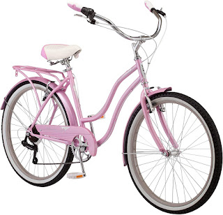Schwinn Perla Womens Beach Cruiser Bike, 26-Inch Wheels