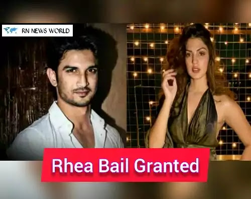 Sushant-Singh-Rajput's-Case-Update-Rhea-Chakraborty-Getting-Bail-On-Bombay-High-Court