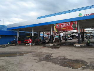 Bus Jurusan Palabuhanratu-Bogor Berhenti Operasi