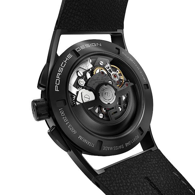 Porsche Design Sport Chrono Black & Leather ref. 6023.1.02.001.07.2