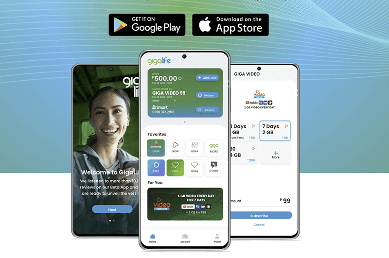 Smart announces new GigaLife app for prepaid subscribers