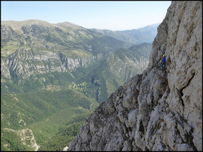 Escalada de la Homedes al Gat en el Pedraforca