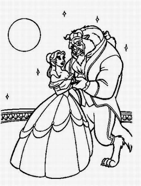Disney coloring pages coloring.filminspector.com Beauty and the Beast