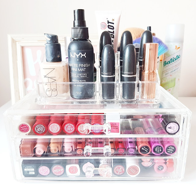 Cute & Affordable Storage | How I Organise My Makeup