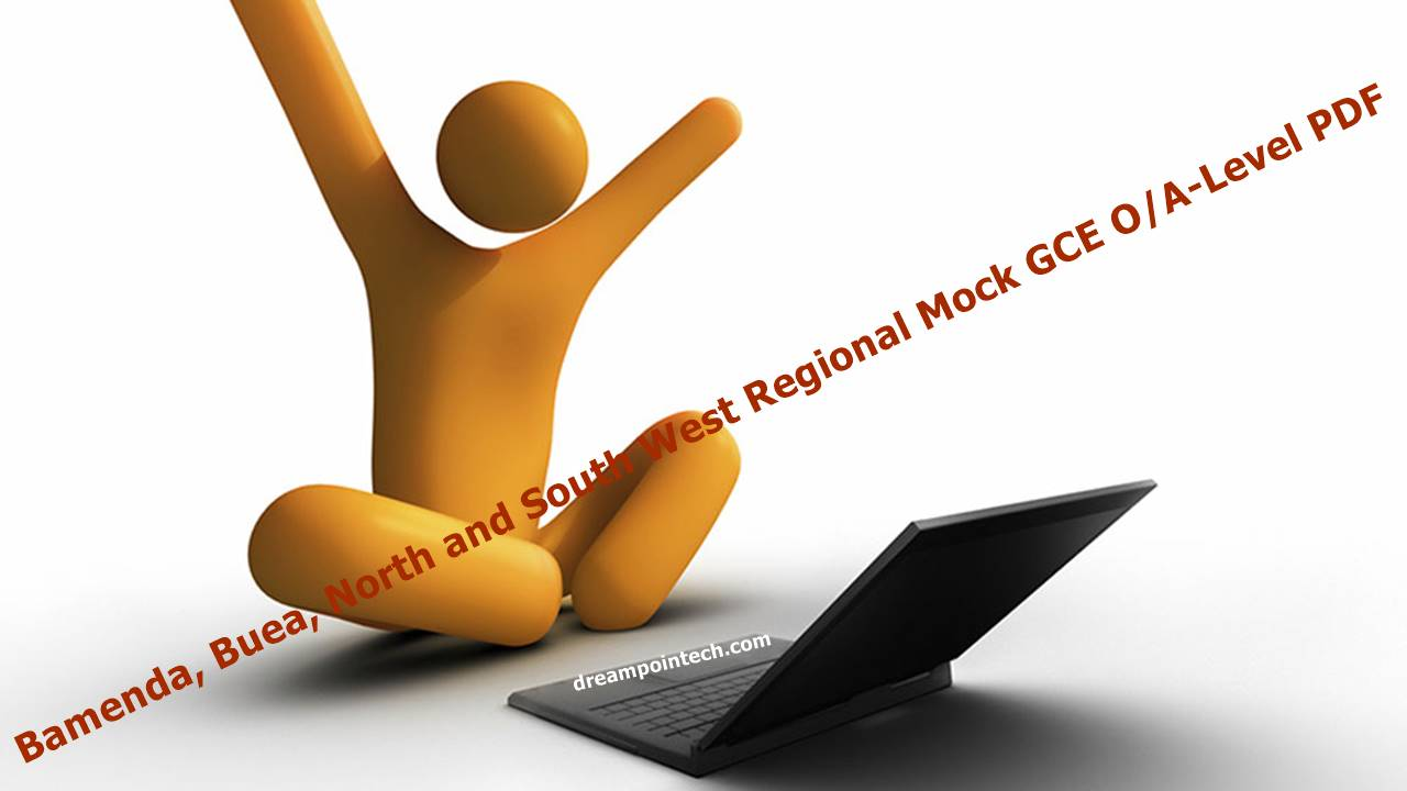 Bamenda North and South West Regional Mock GCE O/A-Level PDF