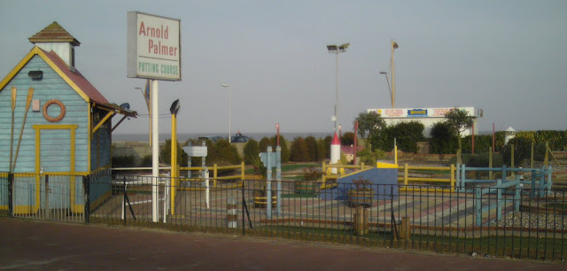 The Arnold Palmer Putting Course in Great Yarmouth