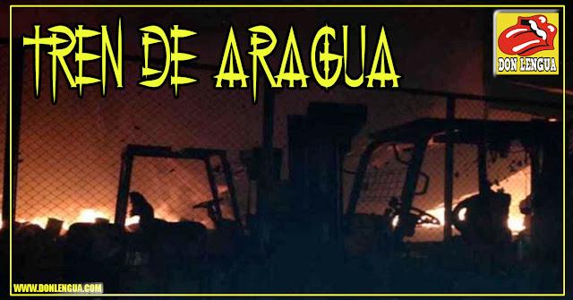 Confirman que fue El Tren de Aragua quien quemó galletas Puig por no pagar vacuna