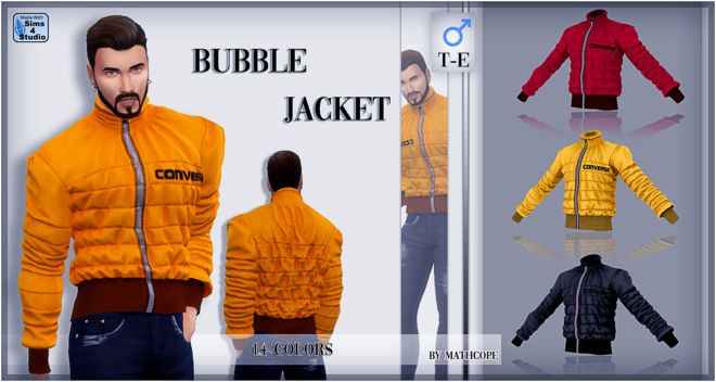 BUBBLE JACKETS FOR MALES