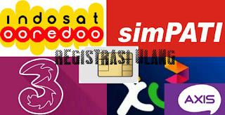 Cara Registrasi Ulang Kartu SIM Agar Tidak Terblokir