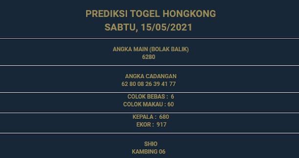 3 - PREDIKSI HONGKONG 15 MEI 2021
