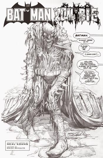 Espectacular cómic Batman: Black and White