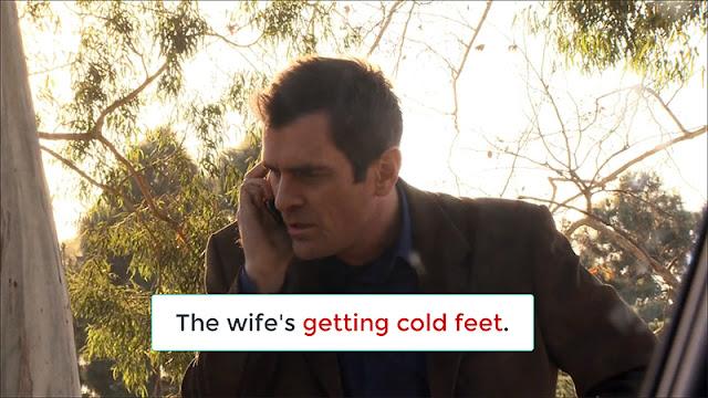 Arti Get Cold Feet