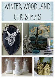 winter woodland christmas decor