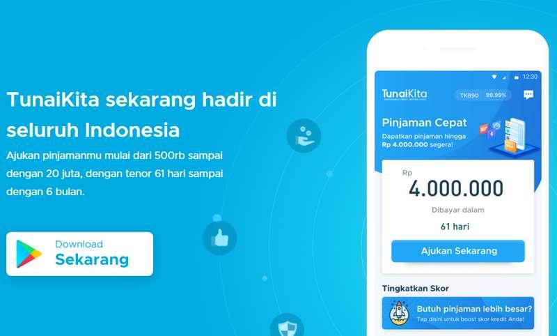 Pinjaman Online Tunai Kita (tunaikita.com)