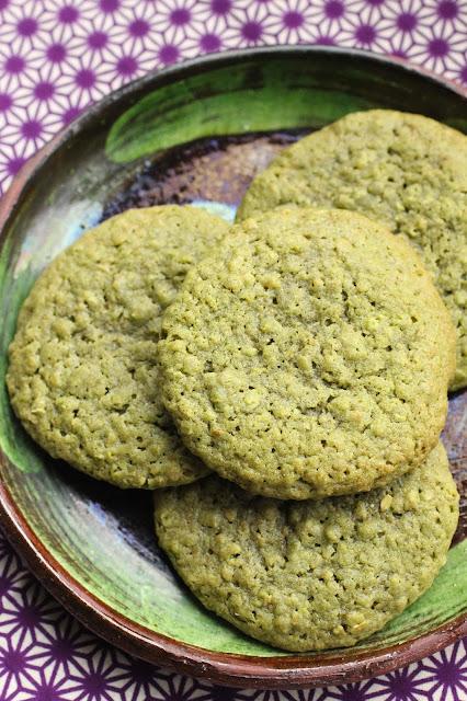 cookies avoine thé matcha