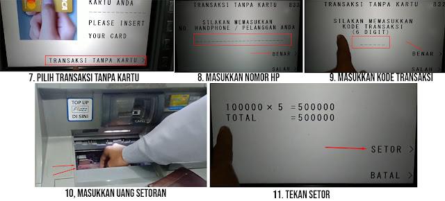 Cara Setor Tunai BCA Tanpa Kartu ATM