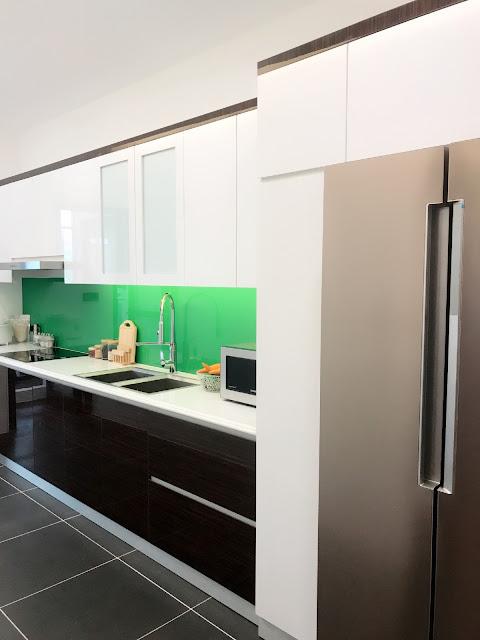 Tủ bếp tại dự án chung cư Eco Lake View