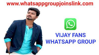 Join 200+ Vijay Fans Whatsapp Group Links 2020