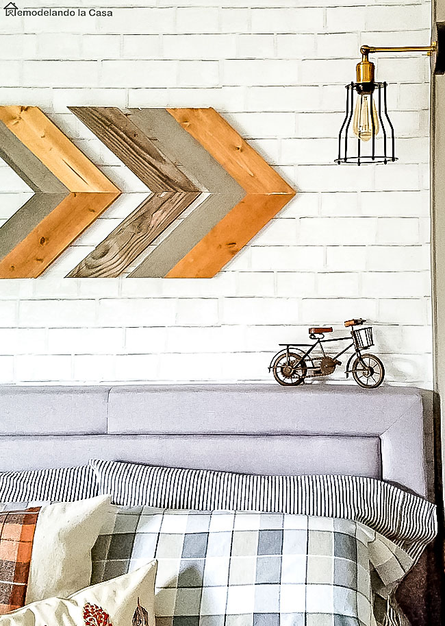 DIY - Wooden arrow - Wall decor