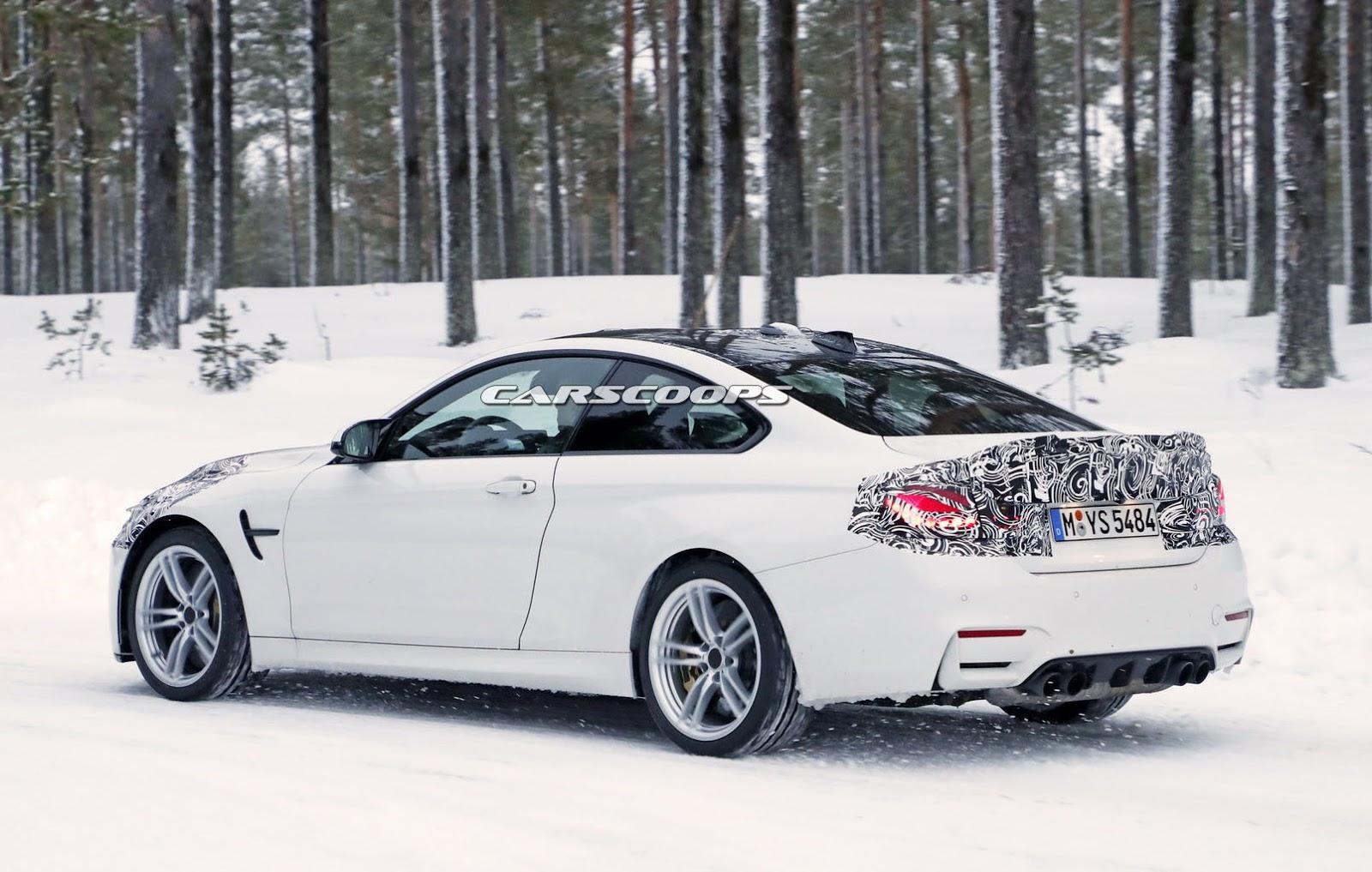 2014 - [BMW] M3 & M4 [F80/F82/F83] - Page 24 Spied-BMW-M4-CS-8