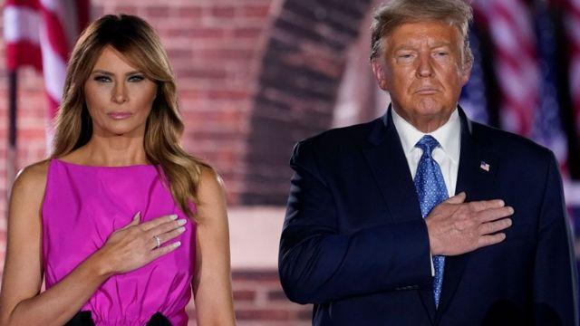 Vợ chồng Tổng thống Trump nhiễm Covid-19